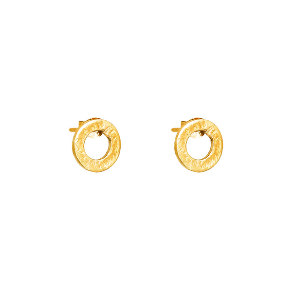 Rock Finders Keepers | Chloe Stud Earrings | Gold | VOULT.COM.AU