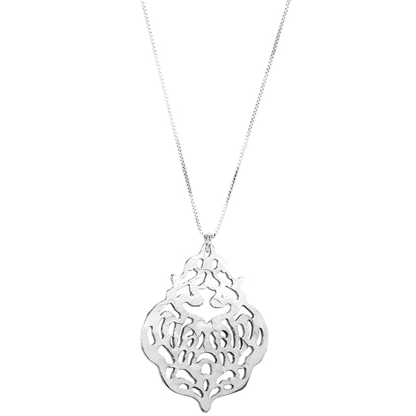 Rock Finders Keepers | Flame Necklace - Long | Silver | VOULT.COM.AU