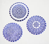 Hand Painted Moroccan Plate | Design 3