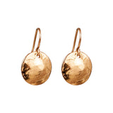 Rock Finders Keepers | Harlow Medium Disc Earrings | Rose | VOULT.COM.AU