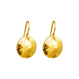 Rock Finders Keepers | Harlow Small Disc Earrings | Gold | VOULT.COM.AU