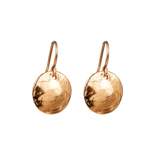 Rock Finders Keepers | Harlow Small Disc Earrings | Rose | VOULT.COM.AU