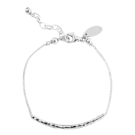 Phoenix Large Linked Ring Necklace - Mid | Silver