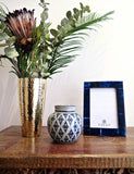 Small Ginger Jar With Lid | Blue And White