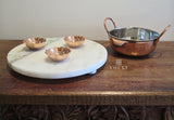 Copper And Stainless Steel Bowl With Handles