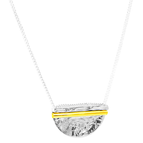 Rock Finders Keepers | Inez Large Necklace - Polished Gold Detail | VOULT.COM.AU