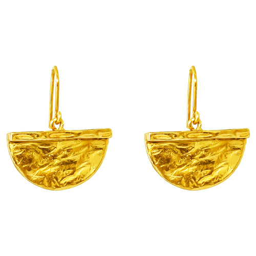 Rock Finders Keepers | Inka Large Earrings - Gold | VOULT.COM.AU