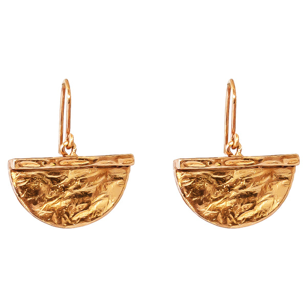 Rock Finders Keepers | Inka Large Earrings - Rose | VOULT.COM.AU