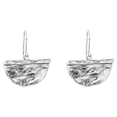 Rock Finders Keepers | Inka Large Earrings - Silver | VOULT.COM.AU