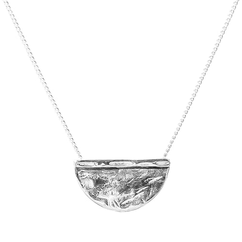 Rock Finders Keepers | Inka Large Necklace - Silver | VOULT.COM.AU