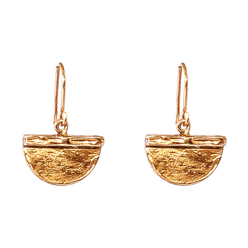 Rock Finders Keepers | Inka Medium Earrings - Rose | VOULT.COM.AU