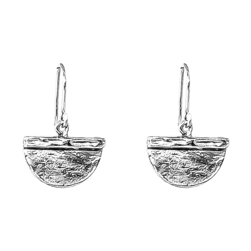 Rock Finders Keepers | Inka Medium Earrings - Silver | VOULT.COM.AU