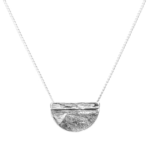 Rock Finders Keepers | Inka Medium Necklace - Silver | VOULT.COM.AU