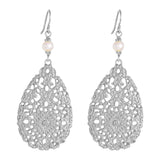 Rock Finders Keepers | Ivanka Earrings | Silver With Pearl Detail | VOULT.COM.AU