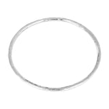 Rock Finders Keepers | Kalinda Fine Bangle | Silver | VOULT.COM.AU