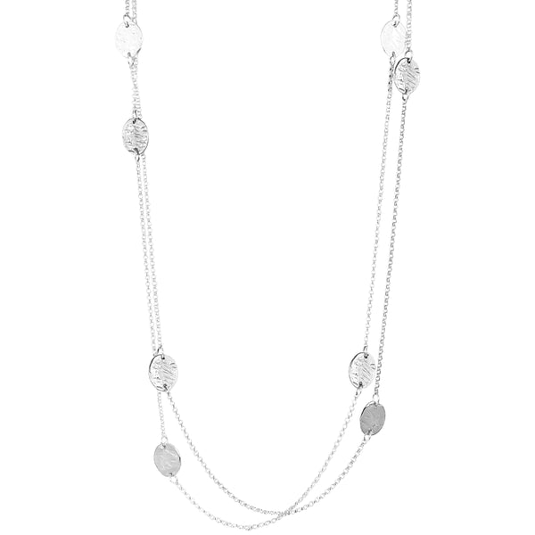Rock Finders Keepers | Kara Necklace - Long | Silver Detail | VOULT.COM.AU