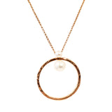 Rock Finders Keepers | Luciana Necklace | Rose With Pearl Detail | VOULT.COM.AU