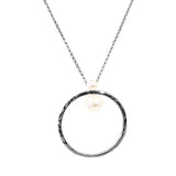 Rock Finders Keepers | Luciana Necklace | Silver With Pearl Detail | VOULT.COM.AU