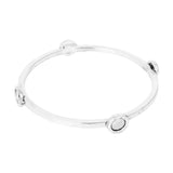 Rock Finders Keepers | Mercury Bangle | Polished Silver Detail | VOULT.COM.AU