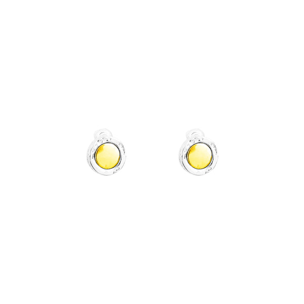 Rock Finders Keepers | Mercury Stud Earrings | Polished Gold Detail | VOULT.COM.AU