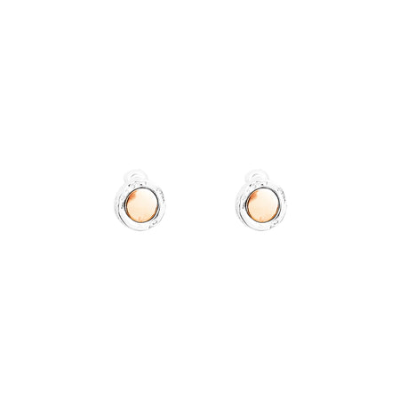 Mercury Polished Bar Earrings | Polished Gold Detail