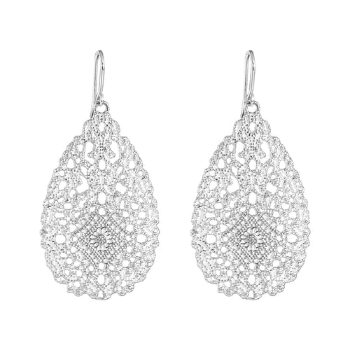 Rock Finders Keepers | Olympia Earrings | Silver | VOULT.COM.AU