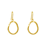 Rock Finders Keepers | Paradis Medium Drop Earrings - Gold | VOULT.COM.AU