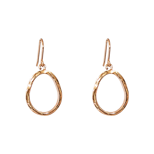 Rock Finders Keepers | Paradis Medium Drop Earrings - Rose | VOULT.COM.AU