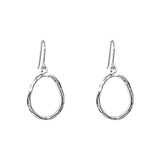Rock Finders Keepers | Paradis Medium Drop Earrings - Silver | VOULT.COM.AU