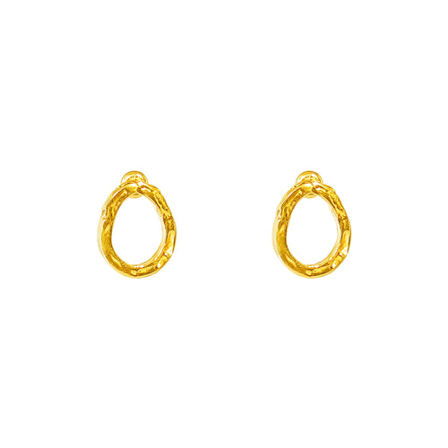 Rock Finders Keepers | Paradis Stud Earrings - Gold | VOULT.COM.AU