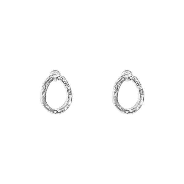 Rock Finders Keepers | Paradis Stud Earrings - Silver | VOULT.COM.AU