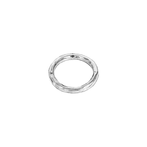 Rock Finders Keepers | Petra Hammered Ring | Silver | VOULT.COM.AU