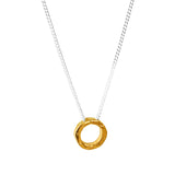 Rock Finders Keepers | Phoenix Fine Hammered Ring Necklace | Gold | VOULT.COM.AU