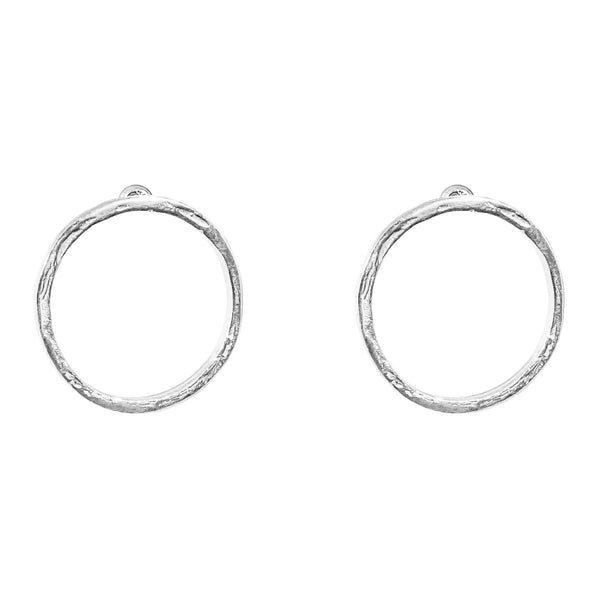 Rock Finders Keepers | Phoenix Medium Stud Earrings - Silver | VOULT.COM.AU