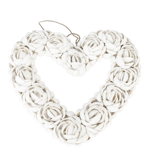 Voult | Shell Love Heart | All White | VOULT.COM.AU