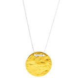 Rock Finders Keepers | Vesper Large Disc Necklace - Long | Gold | VOULT.COM.AU