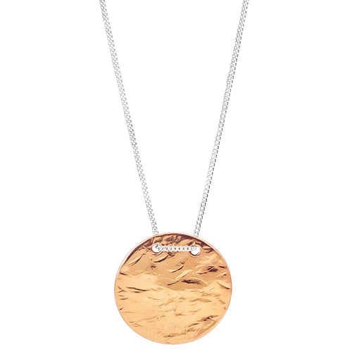 Rock Finders Keepers | Vesper Large Disc Necklace | Rose | VOULT.COM.AU