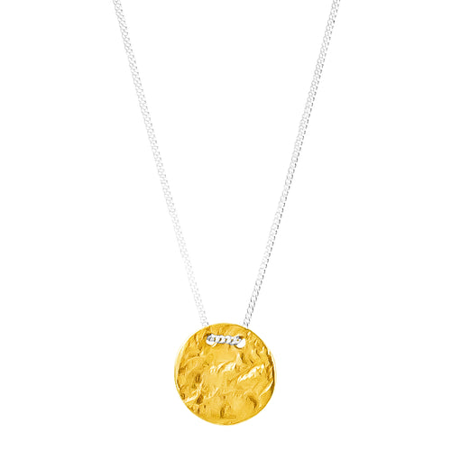 Rock Finders Keepers | Vesper Small Disc Necklace | Gold | VOULT.COM.AU