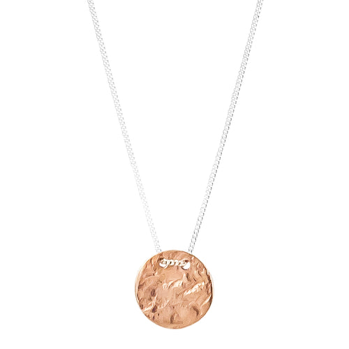 Rock Finders Keepers | Vesper Small Disc Necklace | Rose | VOULT.COM.AU