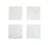 Voult | White Marble Coaster | Set Of 4 | VOULT.COM.AU