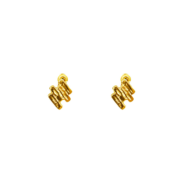 Rock Finders Keepers | Zaine Stud Earrings | Gold | VOULT.COM.AU