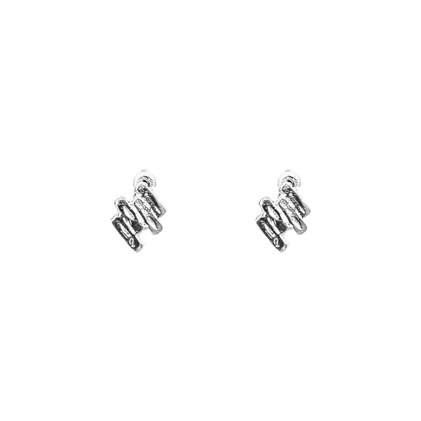 Rock Finders Keepers | Zaine Stud Earrings | Silver | VOULT.COM.AU