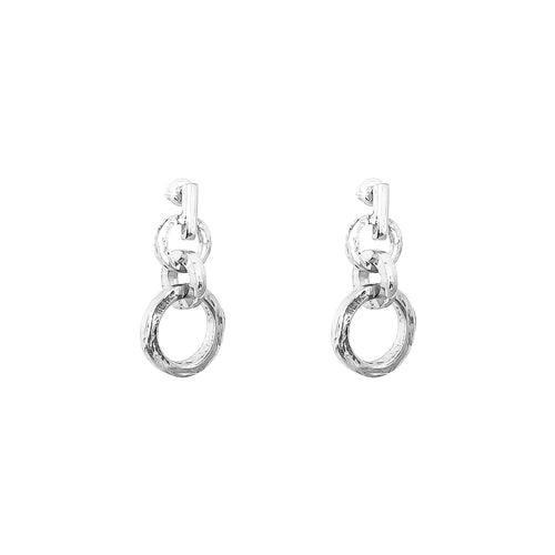 Rock Finders Keepers | Zoe Drop Earrings | Silver | VOULT.COM.AU