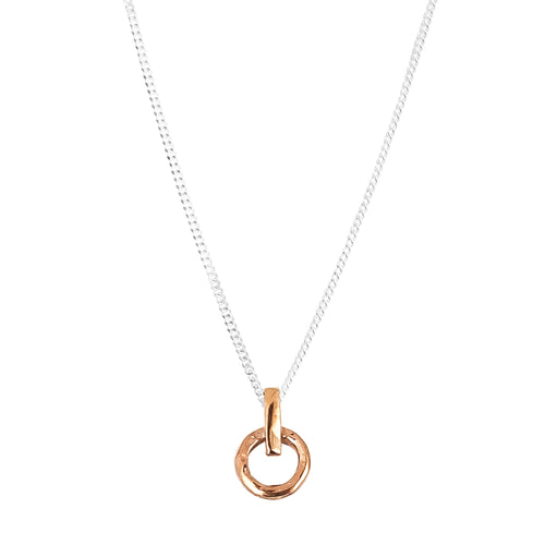 Rock Finders Keepers | Zoe Fine Necklace | Rose | VOULT.COM.AU