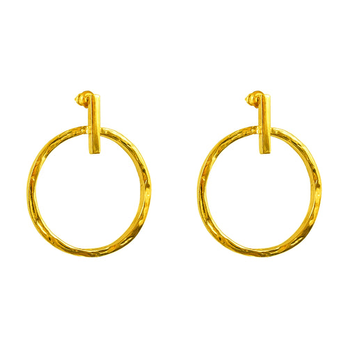 Rock Finders Keepers | Zoe Large Earrings | Gold | VOULT.COM.AU