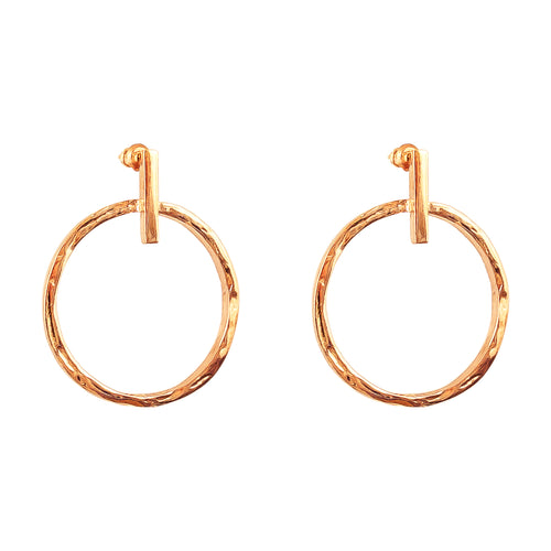 Rock Finders Keepers | Zoe Large Earrings | Rose | VOULT.COM.AU