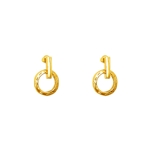 Rock Finders Keepers | Zoe Stud Earrings | Gold | VOULT.COM.AU