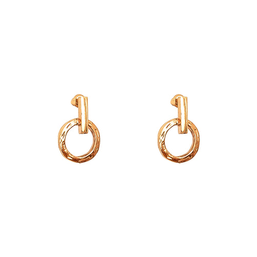 Rock Finders Keepers | Zoe Stud Earrings | Rose | VOULT.COM.AU