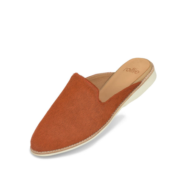 Rollie 21 Madison Mule Burnt Orange