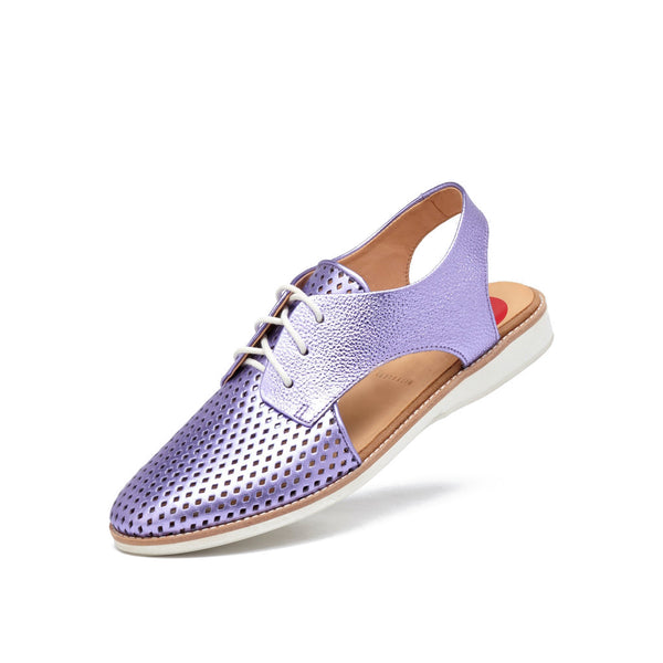 Rollie 21 Slingback Punch Lilac